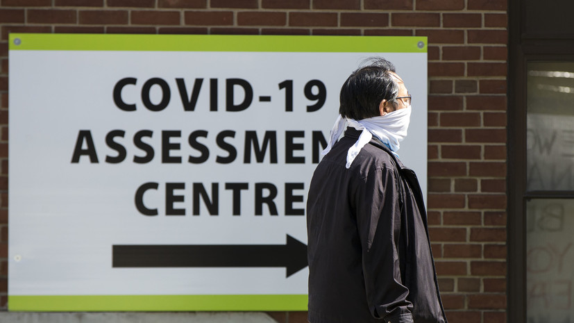 Число случаев инфицирования коронавирусом в Канаде превысило 92 тысячи