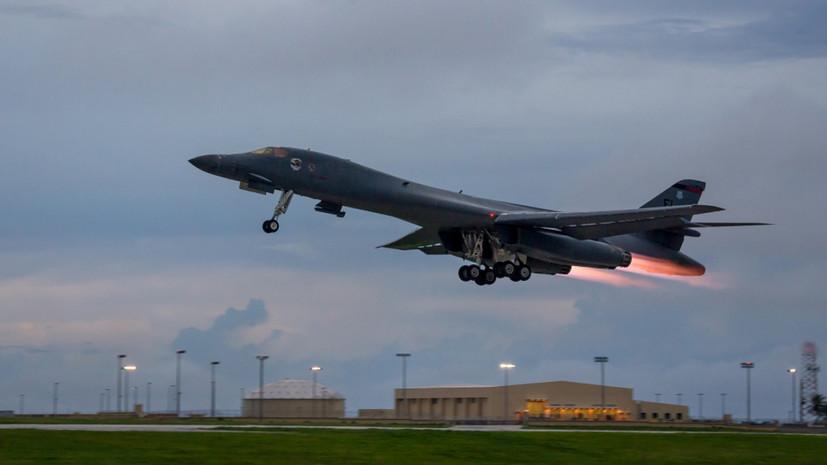 Американские СМИ назвали бомбардировщики B-1B проблемой для ВМФ России
