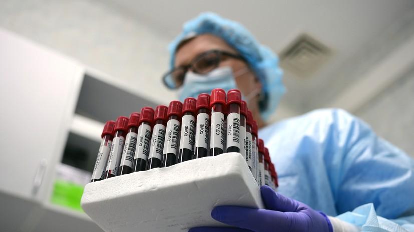 За сутки в России выявлено 8536 носителей коронавируса