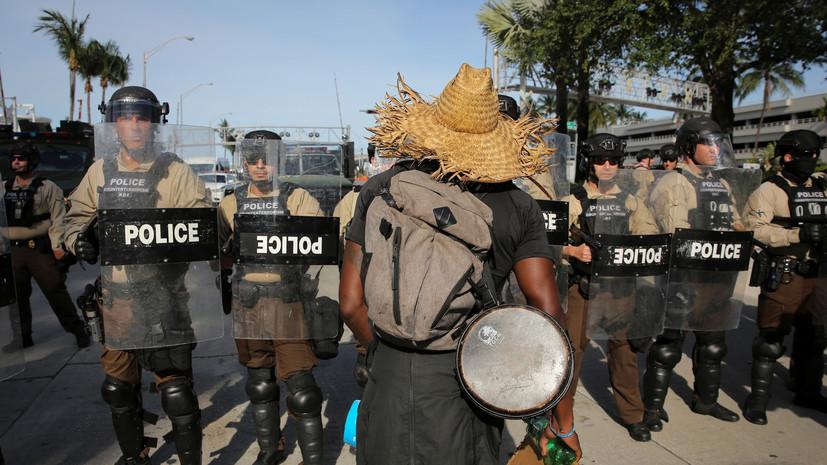 Боец Смоляков: в Майами моим друзьям брызнули газом в глаза