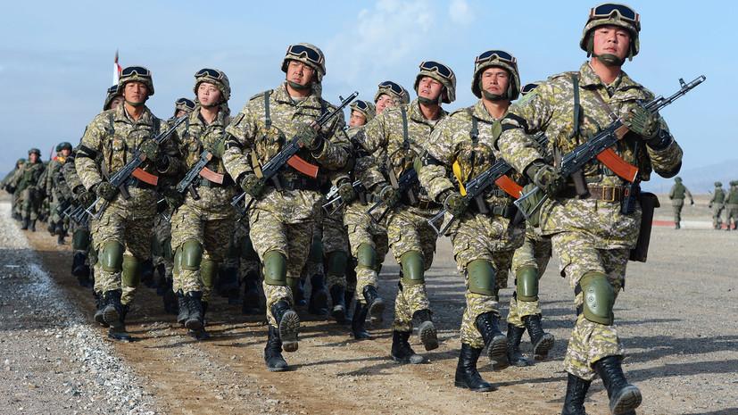 Киргизские военные примут участие в параде Победы в Москве