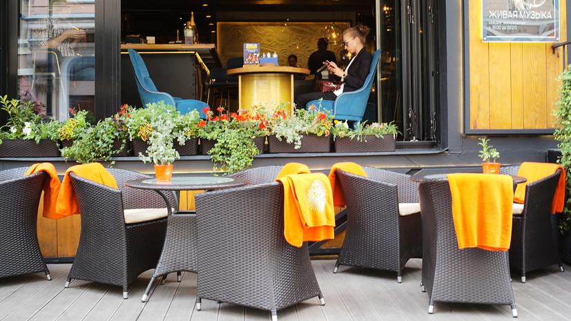 В Москве в 2020 году планируется открыть около 3 тысяч летних кафе