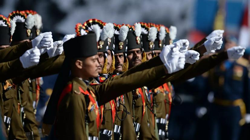 Индийские военные примут участие в параде Победы в Москве