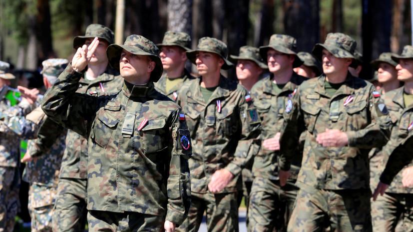 В Польше начались учения Defender Europe 20 Plus с участием солдат США
