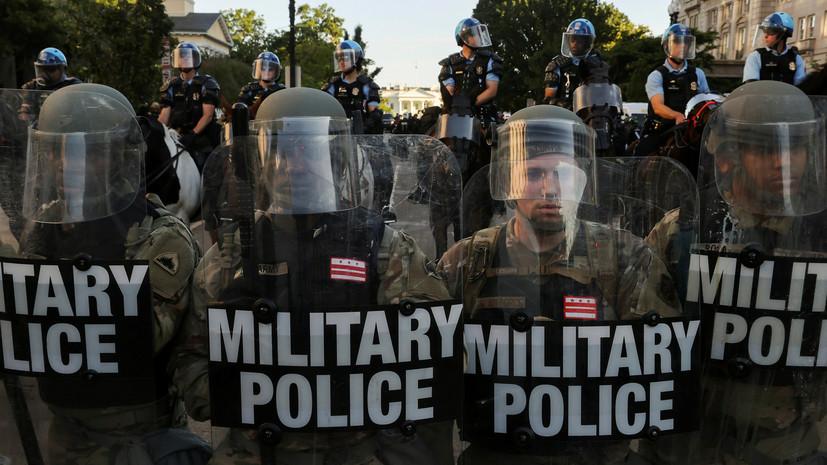 Своими силами: почему Трамп не намерен применять армию для подавления протестов