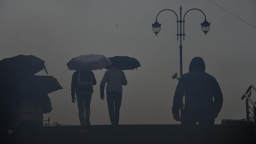 МЧС продлило экстренное предупреждение о грозе и ветре в Москве