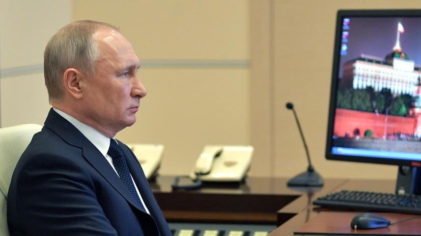 Путин дал поручения по газификации регионов
