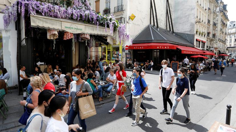Во Франции за сутки скончались 44 человека с коронавирусом
