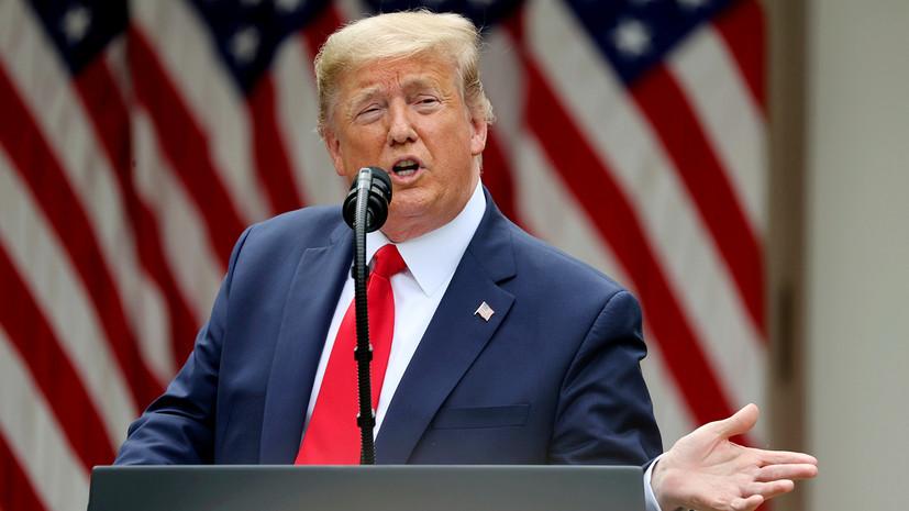 Трамп поблагодарил Иран за освобождение американца