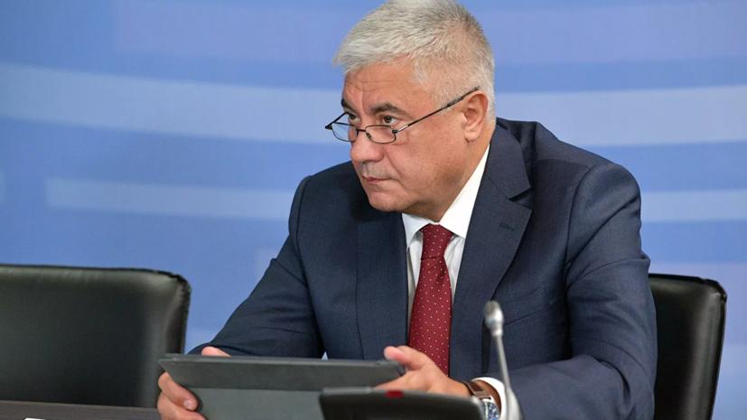 Колокольцев представил личному составу замминистра Лебедева