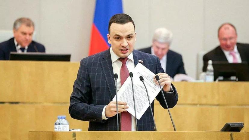 У депутата Госдумы зафиксировали коронавирус