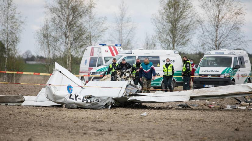 Пять человек погибли при крушении самолёта в США