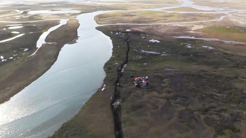 В Норильске откачали более 324 тонн разлившегося топлива