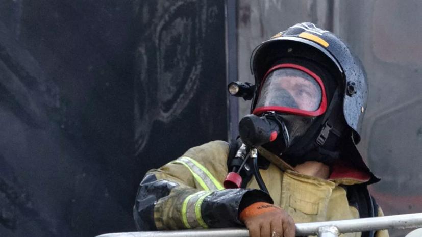 В Башкирии локализовали пожар в ТЦ