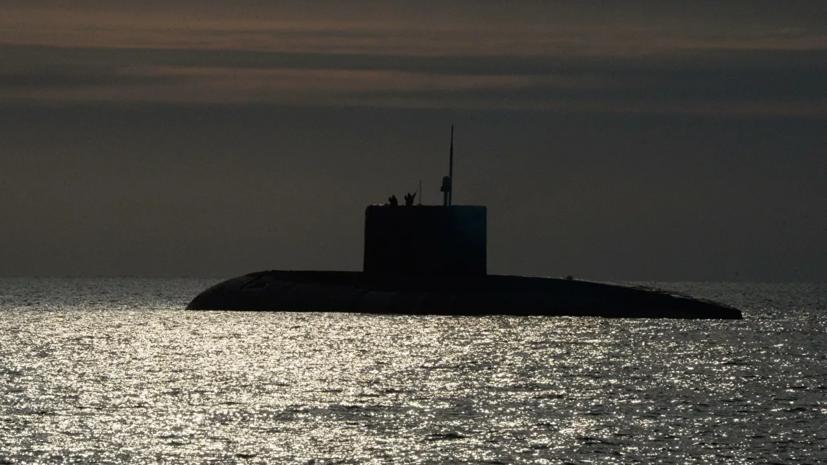 Подлодки Северного флота провели торпедные стрельбы в Баренцевом море