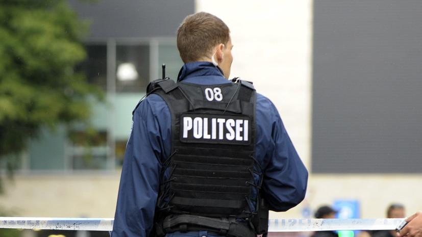 В Эстонии после стрельбы на автозаправке два человека погибли
