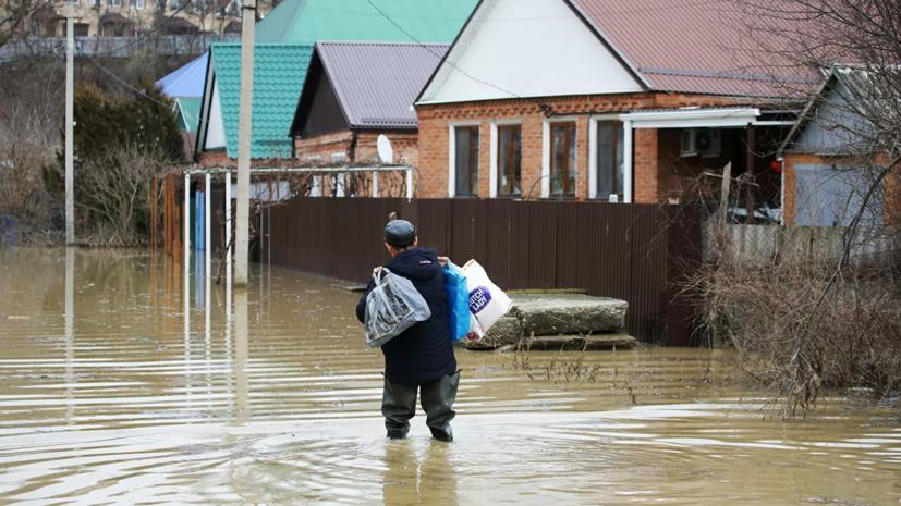 В трёх районах Красноярского края ввели режим ЧС из-за паводков