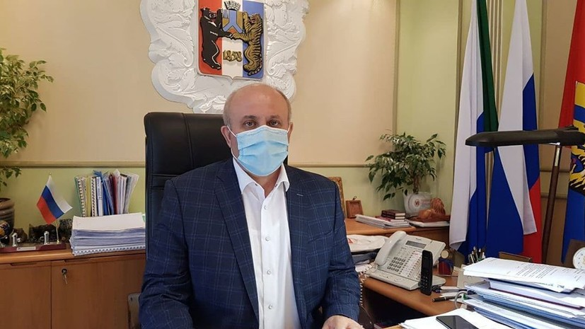 Врачи подтвердили коронавирус у мэра Хабаровска