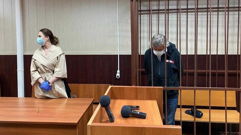 На два месяца: суд отправил Михаила Ефремова под домашний арест
