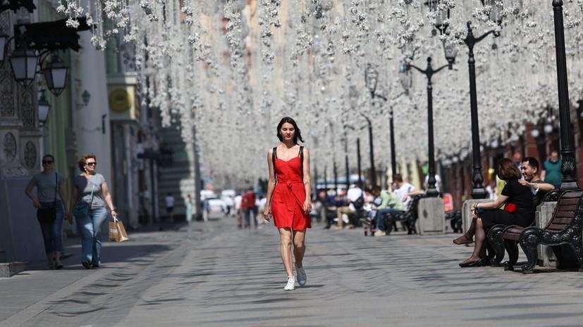 В Москве 10 июня ожидается до +30 °С
