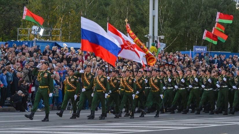Военные из Белоруссии примут участие в параде Победы в Москве
