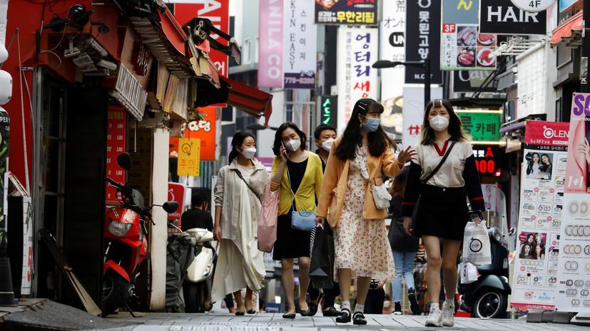 В Южной Корее за сутки выявили 45 случаев заболевания коронавирусом