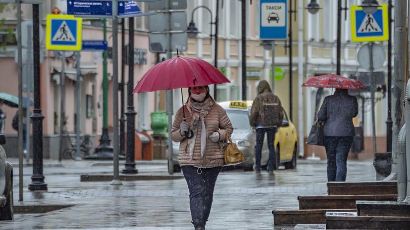В Москве с начала июня выпало почти 90% месячной нормы осадков