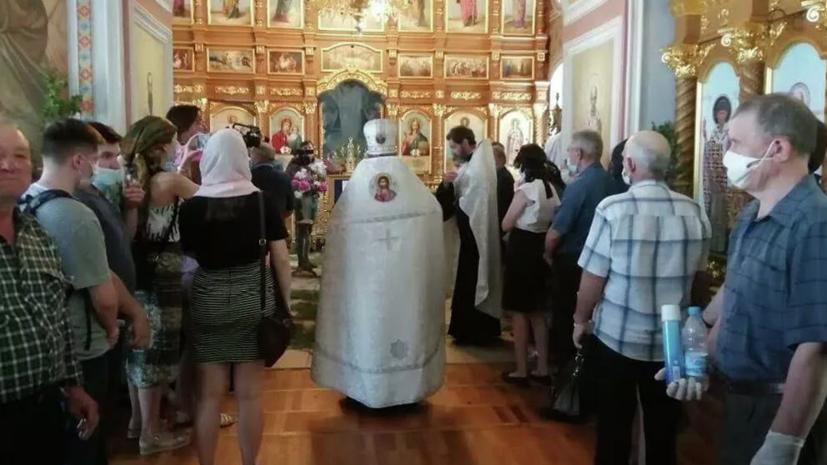 Под Рязанью похоронили погибшего в ДТП с Ефремовым Сергея Захарова