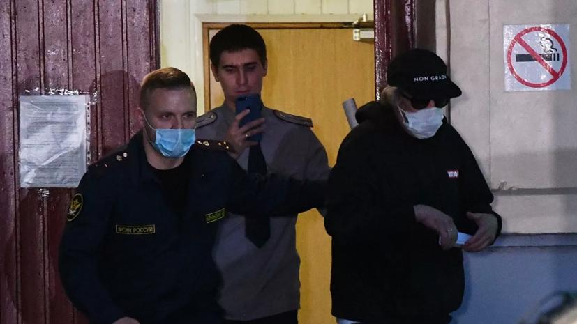 Ефремова допрашивают по делам о ДТП и сбыте ему наркотиков