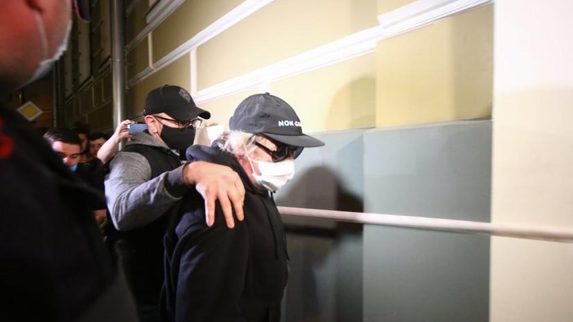 Ефремова встатусе свидетеля допросили поделу осбыте наркотиков