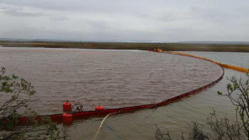СМИ рассказали об экологической ситуации на месте ЧП в Норильске