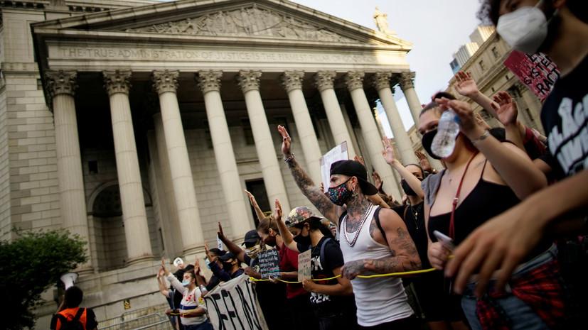 «Чревато гражданской войной»: отставной разведчик-нелегал рассказал о возможных последствиях протестов в США