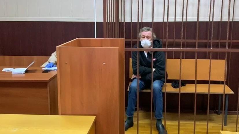 Ефремов в видеообращении попросил прощения у семьи погибшего в ДТП