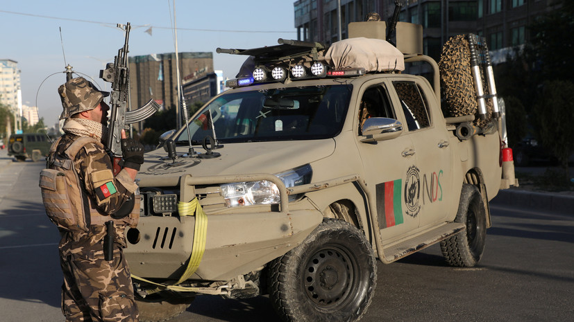 СМИ: Семь сотрудников служб безопасности погибли при атаке в Афганистане