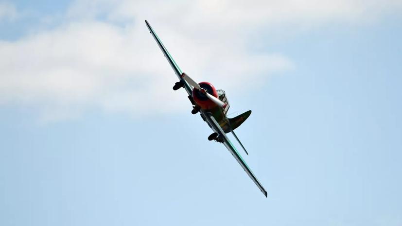 Самолёт Як-52 совершил жёсткую посадку в Самарской области