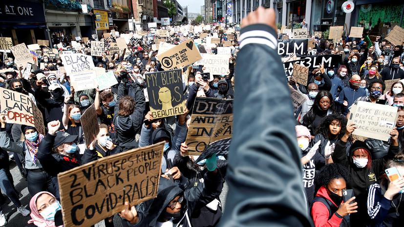 «Опасный путь»: как массовые протесты могут повлиять на ситуацию с коронавирусом в США