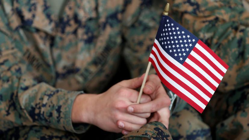 СМИ сообщили о ракетном обстреле базы в Ираке с военными США