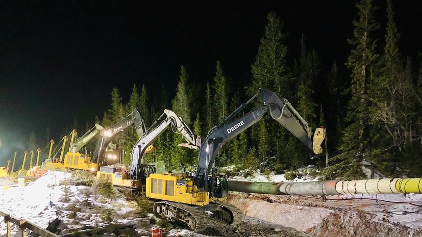 Канадский нефтепровод Trans Mountain закрыт после разлива