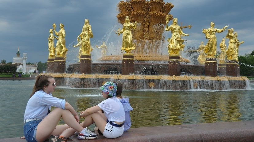 В европейскую часть России придёт вторая волна тепла