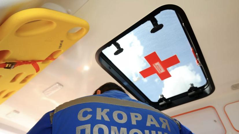 В Красноярске при взрыве баллона пострадали два человека