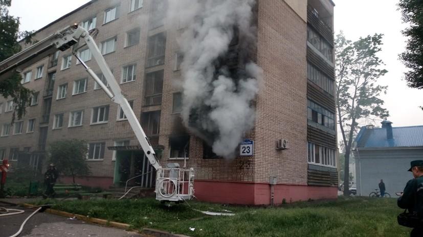 Бытовой газ взорвался в квартире в Минске