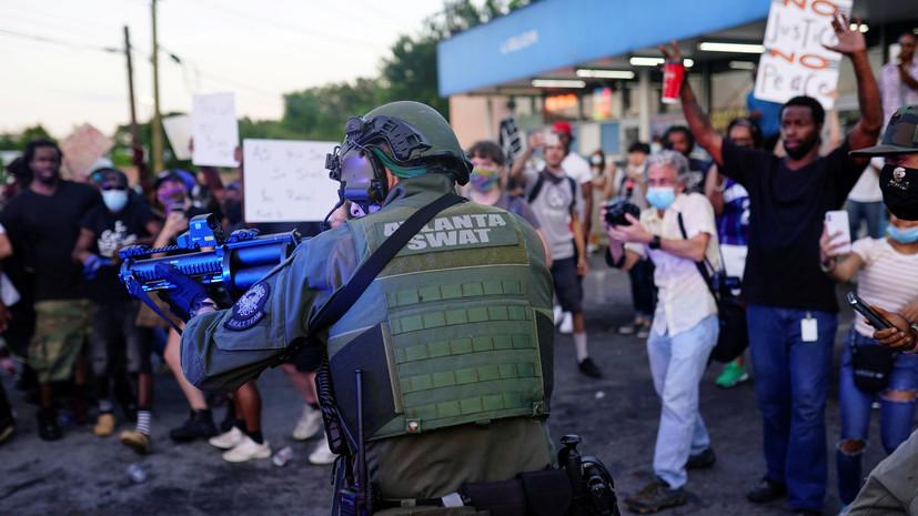 СМИ: При стрельбе в Атланте двое погибли и пятеро получили ранения