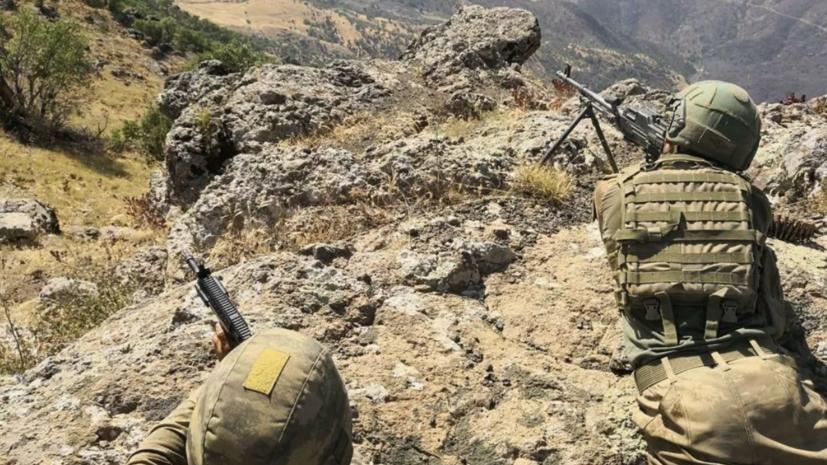 Турция начала операцию против РПК на севере Ирака