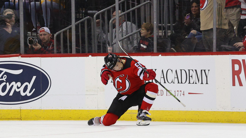Хоккеист «Нью-Джерси» Гусев оценил свой дебютный сезон в НХЛ