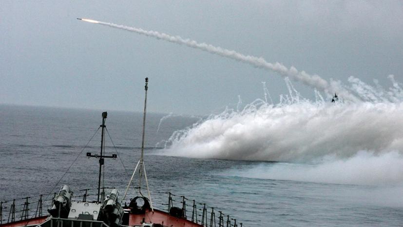 Ракетный катер Тихоокеанского флота провёл учения в Японском море