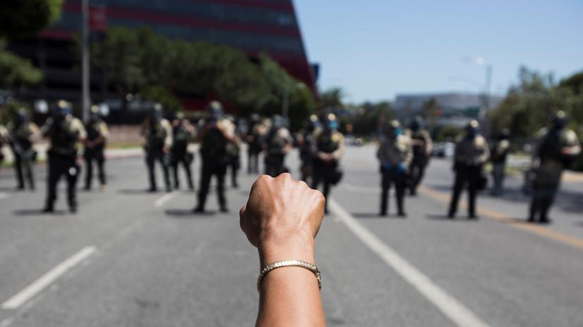 В США произошла стрельба во время демонстрации