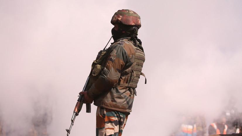 Трое индийских военных погибли при стычке на границе с Китаем
