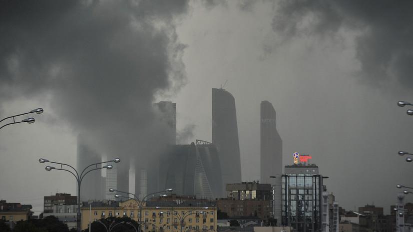 В Москве выпущено штормовое предупреждение из-за жары