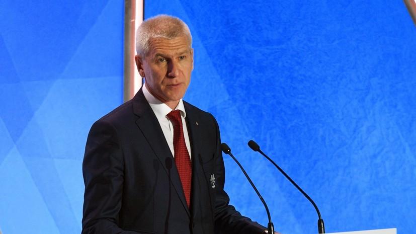 Матыцин обговорил с министром спорта Белоруссии проведение Игр стран СНГ
