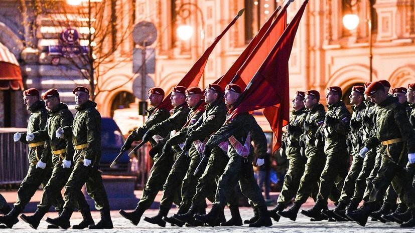 В Россию прибыли военные из 12 стран для участия в параде Победы